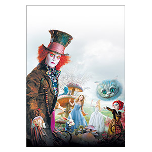 Alice in Wonderland. Размер: 30 х 45 см